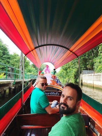 Bangkok floating market boat trip