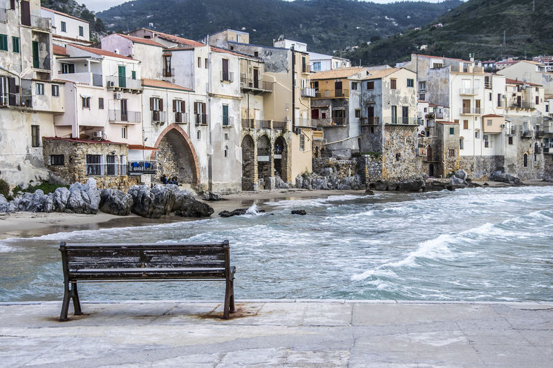 Cefalù - Palermo (Sicily - Italy) Palermo Sicilia Sicily Cefalu  Flowing Flowing Water Nature Outdoors Sea Seascape Seaside Seat Travel Destinations Water Waterfront