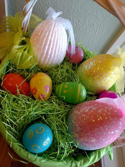 Easter Ready Easter Decoration Easter Egg Easter Basket  Easter Is Coming Soon