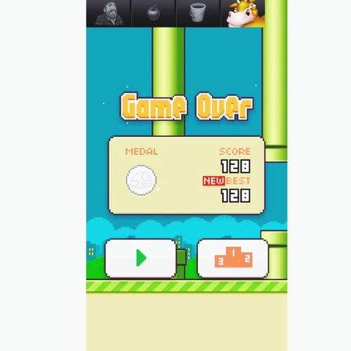 I'm so proud CAN I GET A HELL YEAH Flappy Bird Game Records Screenshot