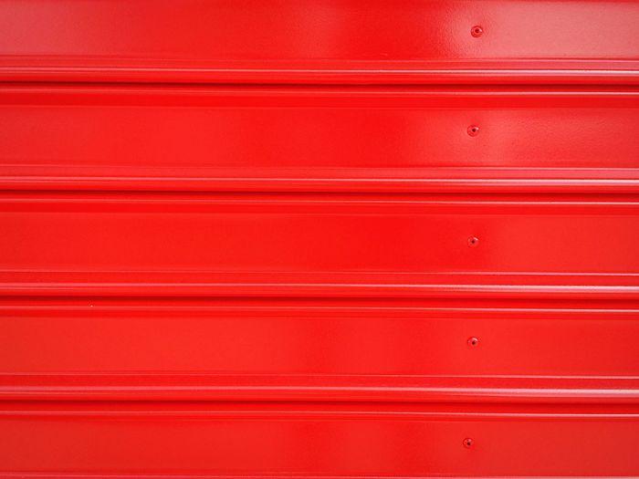Full Frame Shot Of Red Garage Door