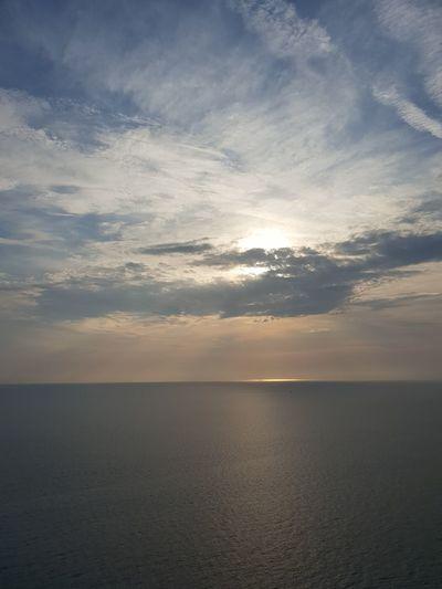 Tramonto a Talamone Tramonto Tuscany Italian Sunset Vista Panorámica Clouds And Sky Panoramic View Water Sea Sunset Beach Blue Beauty Summer Sun Horizon Cumulus Cloud