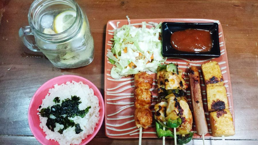 Bento Bento Box Bentobox Japanese Food Japanesefood Healthy Food Lunch Lunchtime Lunch Box Yakitori Healthyfoodchoices Lunchset Japanese Grill Grill Healthy Food Healthy Eating Healthyfood