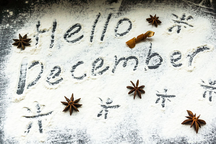 Beach Christmas Christmas Decoration Christmas Tree Close-up Communication Day Indoors  Nature No People Sand Star Anise Text Western Script