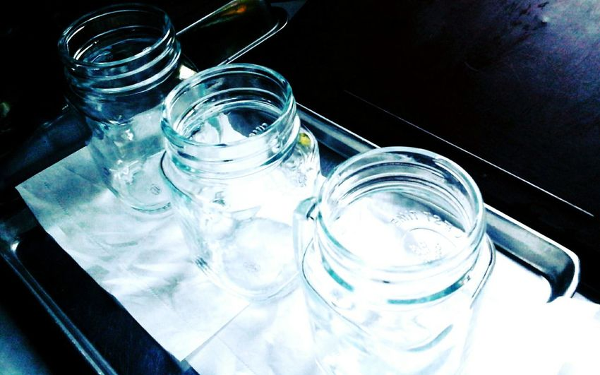 Glass - Material Empty Bottles Transparent Delicate Kithen Stuff EyeEm Shiny and Glossy Solid Glass Reflection