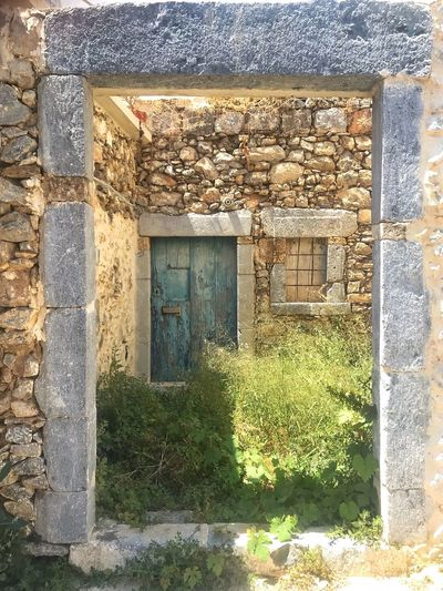 Greece Architecture Built Structure Building Exterior Building House No People Day Outdoors Old