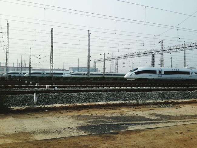 Transportation Mode Of Transport Land Vehicle Travel Railroad Track China Highspeed The Great Outdoors - 2017 EyeEm Awards The Photojournalist - 2017 EyeEm Awards Let's Go. Together.