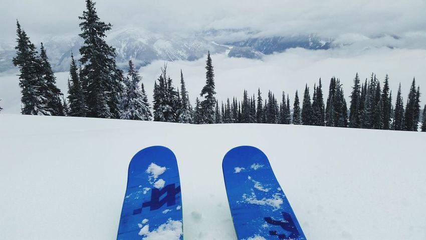 Fresh Tracks Freeskiing Revelstoke Revelstokemountainresort Wintertime Skyline Volkl Ski