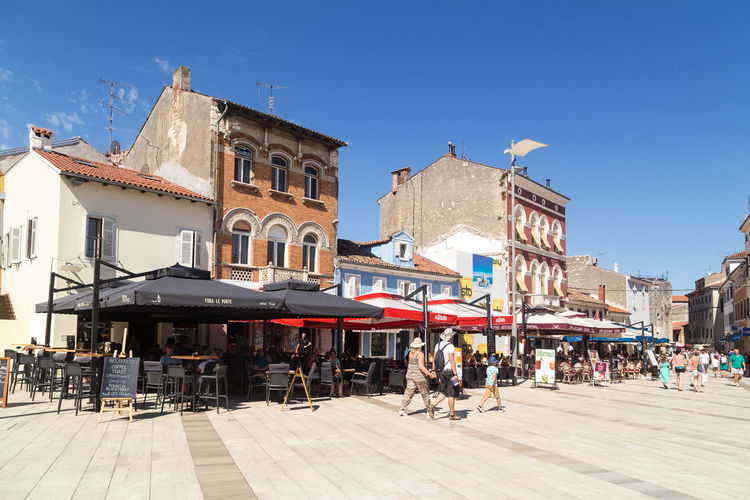 Croatian streets... City Croatia Holiday Holidays Life Porec, Croatia Poreč Street Poreč Streets Shade Streets Tourist Tourists Travel Architecture Croatian Street Croatian Streets Croatian Town Lifestyles Porec Real People Summer Tourism Town Vaction Visit Croatia