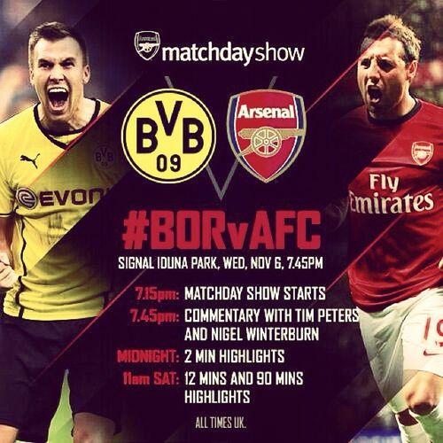 Borussia vs Arsenal ● BORvAFC