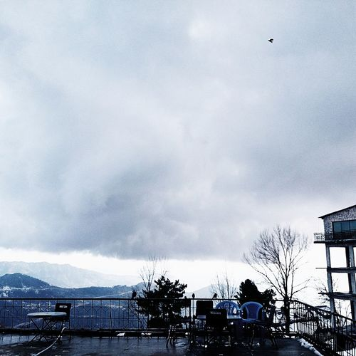 Snow ❄ Clouds And Sky Chilling ✌ Today's Weather Report Hillside