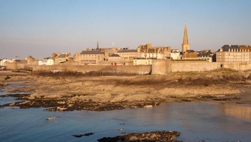 Architecture Bretagne Brittany City Cityscape Coast France Landscape Low Tide Mediaval Outdoors Saint Malo Sea Town