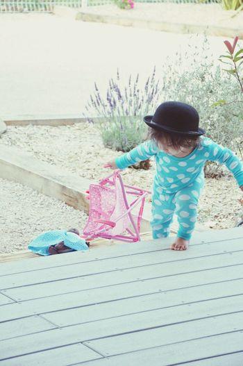 Kids Kid Enfant Enfance Hat Chapeau Outdoors Pretend Pretend Play