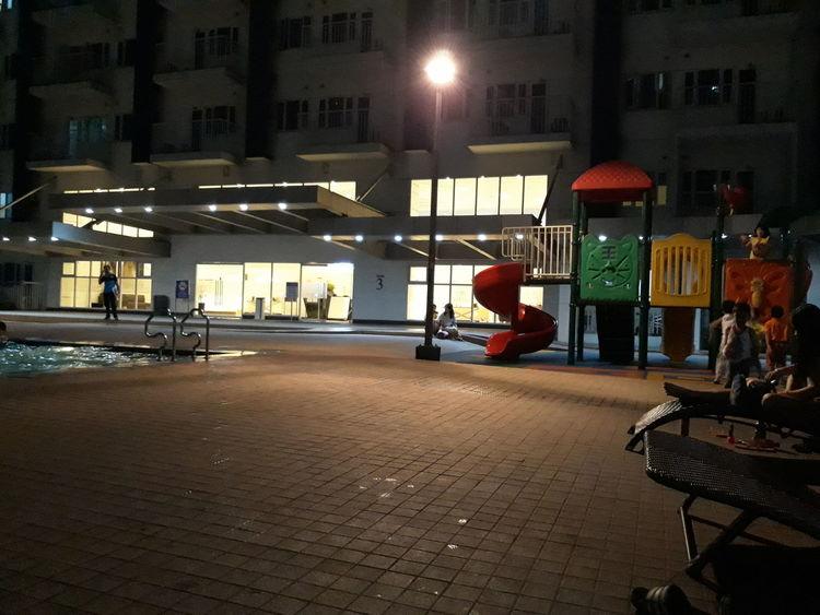 thatlight Slide - Play Equipment City Illuminated Architecture Building Exterior Built Structure