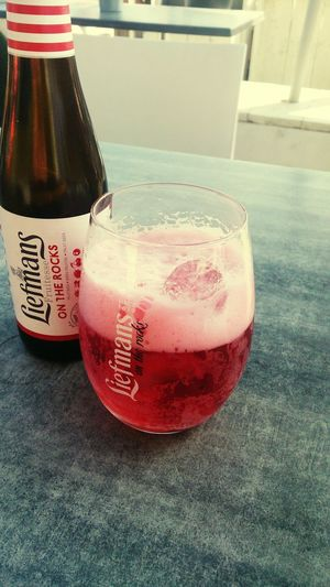 Drinking Beer Relaxo en La Terazza