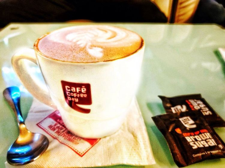 Shot with iphone 4s Coffee Ccd Cappuccino Mornings Refreshment Iphonephotography Coldmornings Gooddays