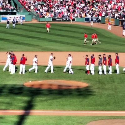 It's HighFiveCity at Myfenway