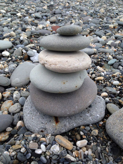 Qixingtan Beach, Hualien, Taiwan Pebble Pebbles Pile Of Stones Stone - Object Stone Tower Stones Tranquil Scene Zen Zen Stone Tower