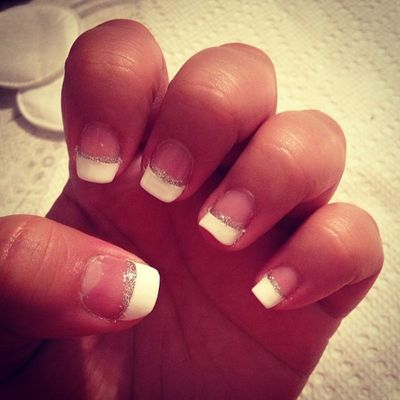 Frenchtips White Love Simple