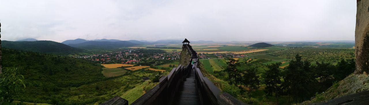 Landscape Travel 500 Years Old Hungarian Castle Hungary Travelling Panorama Tokaj Winery Road Tokaj Wine Region Tokaj Tower Castle Bodrogkovaralja