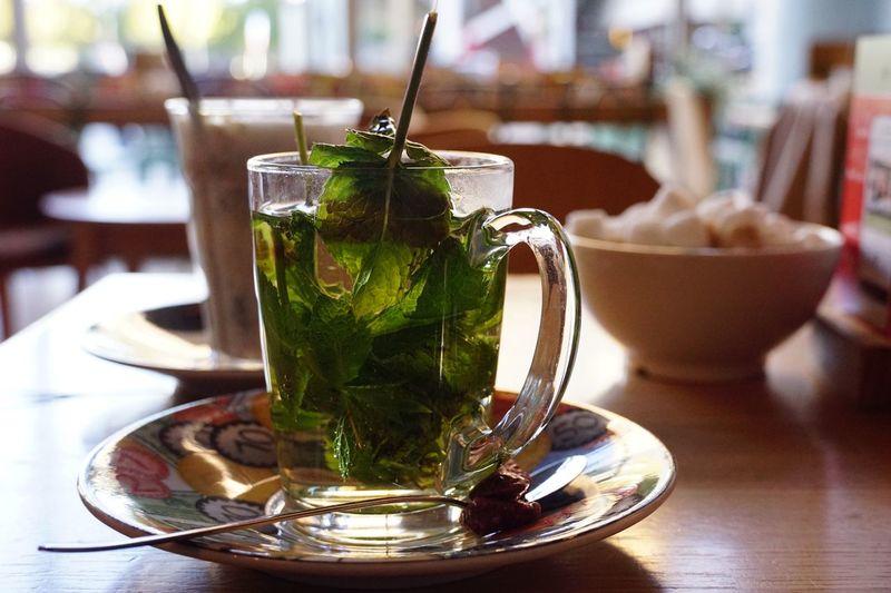 Mint Tea Food