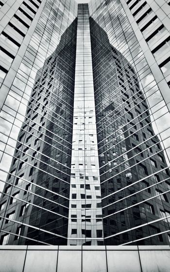 Low angle view of office building