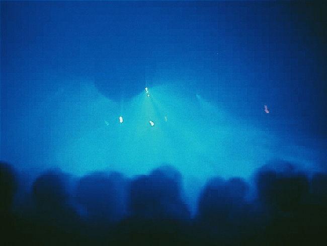 it's now history... Savefabric Blue Silhouette Dancefloor Club London Nightlife Dnb Dub Eletromusic