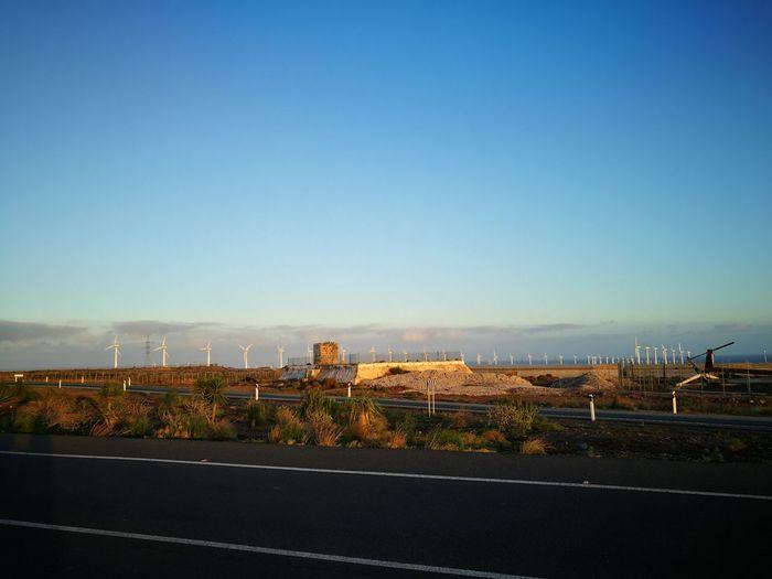 Sky Landscape Roadside Shots Clear Sky Day Drivingshot HuaweiP9 Las Palmas De Gran Canaria