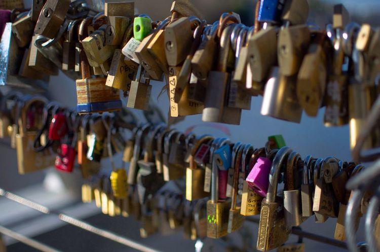 Locks of Love Bridge Love Taking Photos