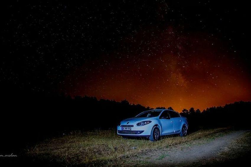 Renault Stars Nightphotography Yildiz