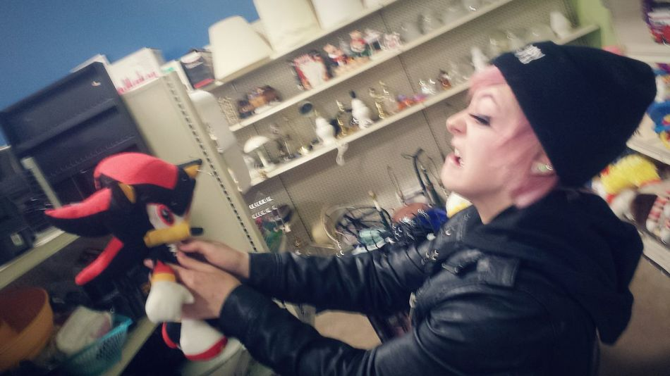 Admittedly, Sonic characters make me nervous. Goodwill Thrifting Sonic Sonic The Hedgehog Pastel Goth
