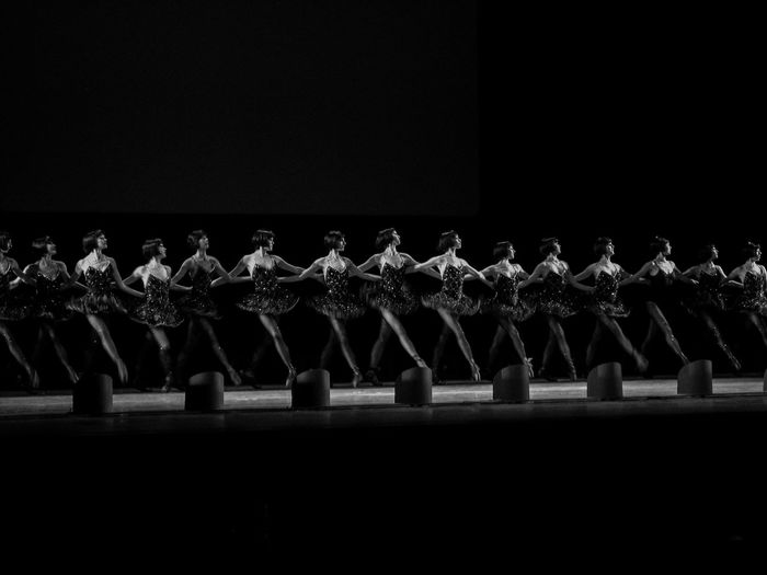 Lulus Arts Culture And Entertainment Ballerina Blackandwhite Glowing Light Monochrome New York City Ballet Women