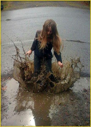 Rainyseason Raining Day Rainy Day Muddy Puddles Puddleography PuddleWonderful Childsplay