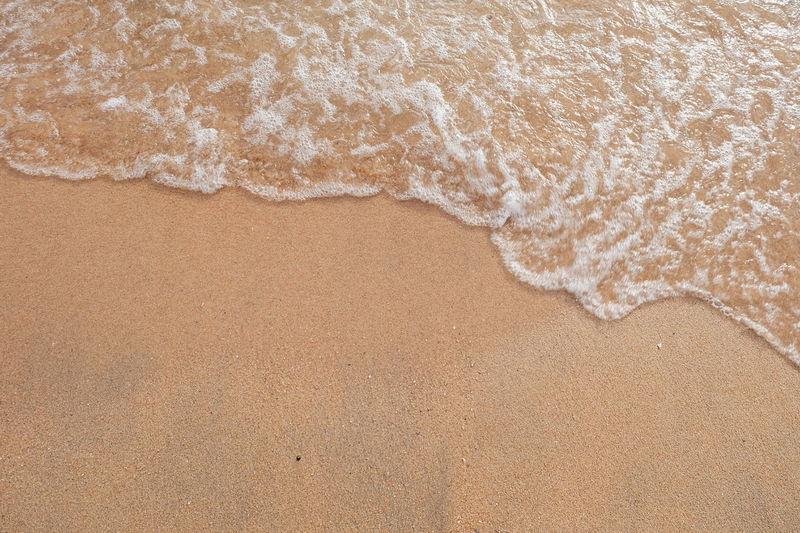 The Beach. The Beach Life Beachphotography Beach Walk Nature Naturelovers Nature Photography Naturephotography Textured  Nature Textures Textures and Surfaces Sand Dune Water Sea Beach Salt - Mineral Sand Backgrounds Full Frame Pattern Textured  Pebble Beach Sandy Beach Ocean Surf Wave Rocky Coastline