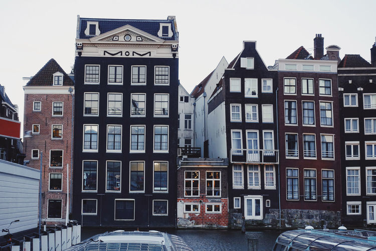 Architecture Built Structure Building Exterior Building Amsterdam City Cityscape City Life Transportation Mode Of Transportation House Row House Outdoors Apartment Window Residential District Day After The Rain Daylight Water Waterfront Life Europe Streetphotography Urban