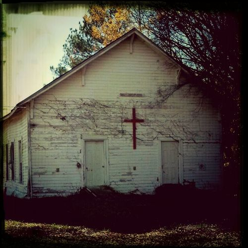 Always riding to church, I always loved this lil church and decided to capture a picture of it...Come to find out my Granddaddy Sharp pastored at it years ago