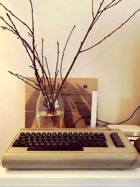 #commodore64 for #homedecoration Homedecoration Commodore 64 Home Interior No People Computer Keyboard