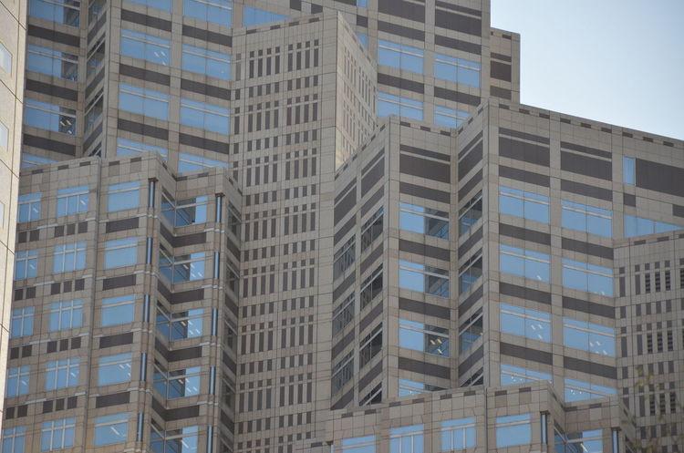 Art Blocks Buildings Design Downtown Japan Pattern Shinjuku Skyscrapers Tokyo Urban Geometry