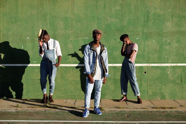 Tennis court taunts in Cape Town. South Africa Man Capetown Portrait Fashion Photography Fashion