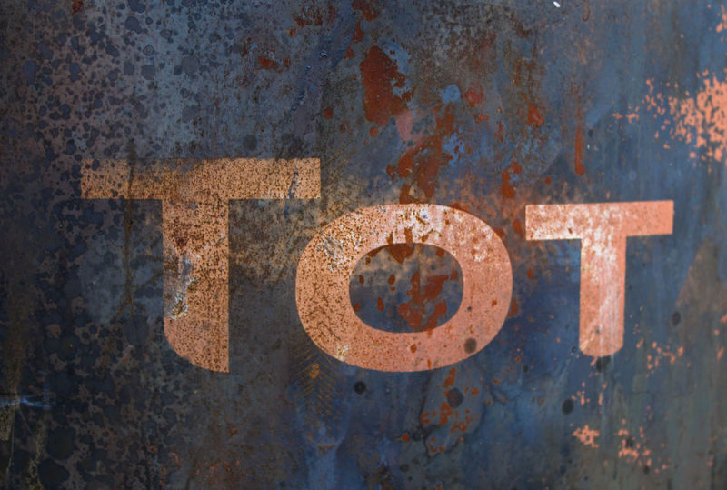 Close-up Day Metal No People Outdoors Rusty Structure Tonne Tot