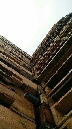 Abstract Wood Stacks  Lumber