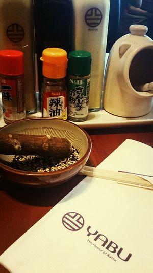 going japanese.
