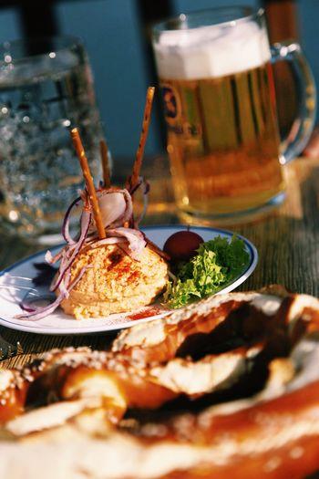 Liquid Lunch Biergarten Bayern Germany Hanging Out Beer