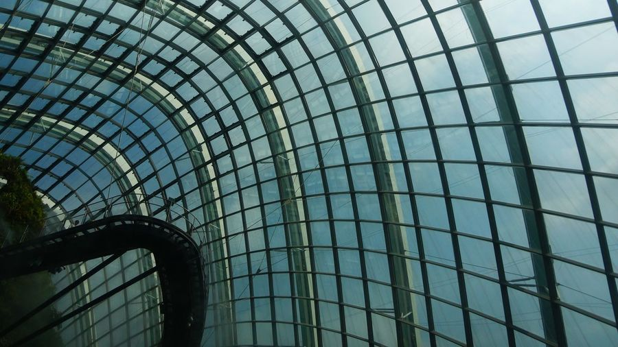 Abstract Architectural Feature Architecture Backgrounds Building Built Structure Day Design Directly Below Full Frame Geometric Shape Glass Dome Interior Design Low Angle View Modern No People Office Building Pattern Repetition Shape Sky Skylight The Architect - 2016 EyeEm Awards Battle Of The Cities My Favorite Place