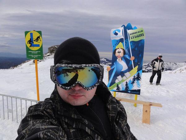 Ready for some snow action Holydays Men Outdoors Portrait Real People Ski Center Ski Destination Ski Resort  Snow Travel Destinations Warm Clothing Winter Winter Holidays