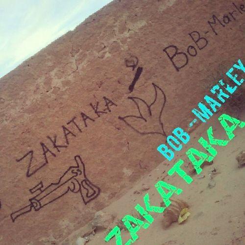 Graffeti Douz Tunisie Tunisia Zakataka Bob_Marley