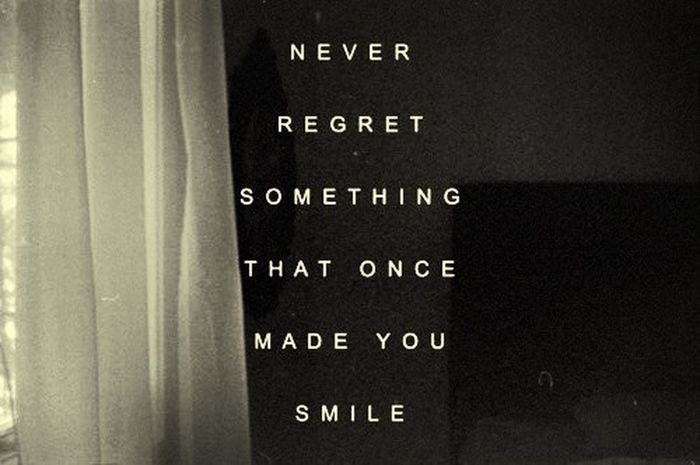 Live Life Without Regrets Start Out Fresh And Enjoy ♡