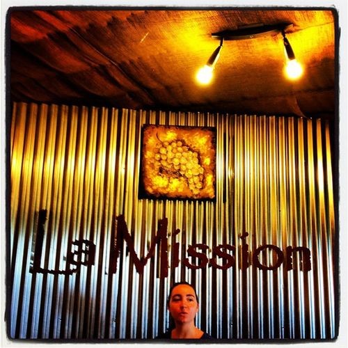 La Mission. #winery #quebec Bromont 819 IPhoneography Lamission Wine Wine_route Lighting Qc Quebec Dunham Canada Cowansville Sign Grapes Vineyard French Winery Instamood Instagood Gmy Instahub