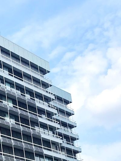 Office Building Exterior Office Building Building Exterior Clouds Buildings & Sky Buildings Architecture Deutschland Germany Dortmund❤ Dortmund Architecture Architectural Design Modern Architecture Sky Cloud - Sky Architecture Built Structure Low Angle View Environmental Conservation Building Exterior Building Outdoors City