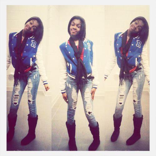 yesterday at school ♥